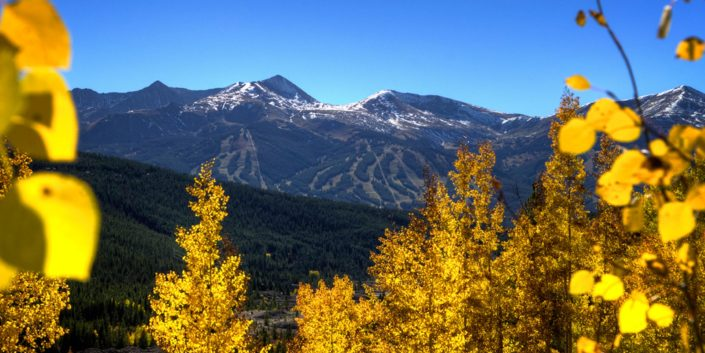 Breckenridge in the fall