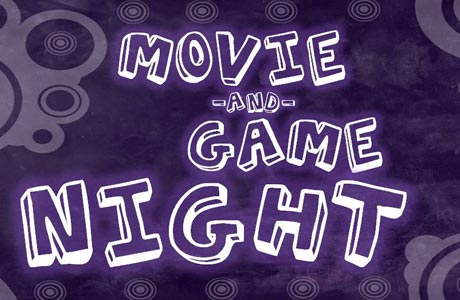 Movie and Game Night Banner